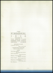 Page 6, 1936 Edition, Foreman High School - Foremanual Yearbook (Chicago, IL) online yearbook collection