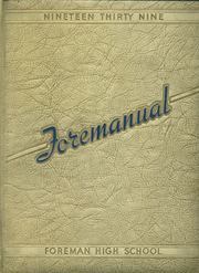 1939 Edition, Foreman High School - Foremanual Yearbook (Chicago, IL)