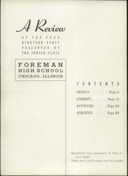 Page 6, 1940 Edition, Foreman High School - Foremanual Yearbook (Chicago, IL) online yearbook collection