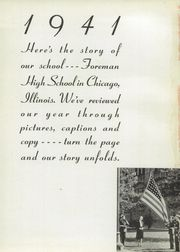 Page 3, 1941 Edition, Foreman High School - Foremanual Yearbook (Chicago, IL) online yearbook collection