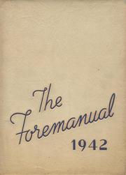 1942 Edition, Foreman High School - Foremanual Yearbook (Chicago, IL)