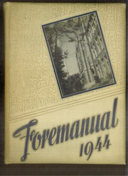 Foreman High School - Foremanual Yearbook (Chicago, IL) online yearbook collection, 1944 Edition, Page 1