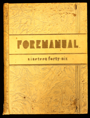 Foreman High School - Foremanual Yearbook (Chicago, IL) online yearbook collection, 1946 Edition, Page 1