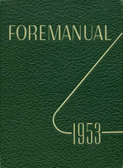 Foreman High School - Foremanual Yearbook (Chicago, IL) online yearbook collection, 1953 Edition, Page 1