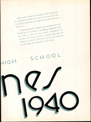Page 9, 1940 Edition, Hammond High School - Dunes Yearbook (Hammond, IN) online yearbook collection
