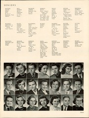 Page 15, 1952 Edition, Hammond High School - Dunes Yearbook (Hammond, IN) online yearbook collection