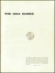 Page 5, 1954 Edition, Hammond High School - Dunes Yearbook (Hammond, IN) online yearbook collection
