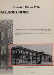 Page 7, 1959 Edition, Hammond High School - Dunes Yearbook (Hammond, IN) online yearbook collection