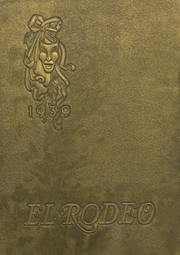 Page 1, 1939 Edition, Big Spring High School - El Rodeo Yearbook (Big Spring, TX) online yearbook collection