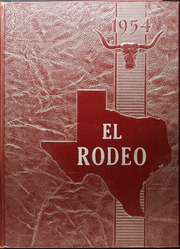 Big Spring High School - El Rodeo Yearbook (Big Spring, TX) online yearbook collection, 1954 Edition, Page 1
