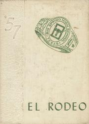 1957 Edition, Big Spring High School - El Rodeo Yearbook (Big Spring, TX)