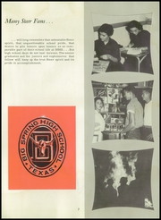 Page 11, 1958 Edition, Big Spring High School - El Rodeo Yearbook (Big Spring, TX) online yearbook collection