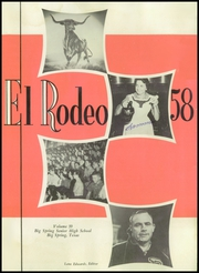 Page 5, 1958 Edition, Big Spring High School - El Rodeo Yearbook (Big Spring, TX) online yearbook collection