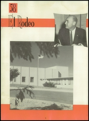 Page 6, 1958 Edition, Big Spring High School - El Rodeo Yearbook (Big Spring, TX) online yearbook collection