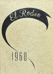 Big Spring High School - El Rodeo Yearbook (Big Spring, TX) online yearbook collection, 1960 Edition, Page 1