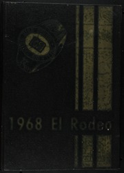 1968 Edition, Big Spring High School - El Rodeo Yearbook (Big Spring, TX)