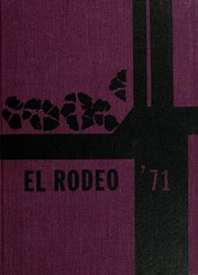 1971 Edition, Big Spring High School - El Rodeo Yearbook (Big Spring, TX)