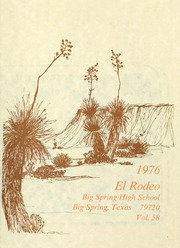 Page 5, 1976 Edition, Big Spring High School - El Rodeo Yearbook (Big Spring, TX) online yearbook collection
