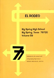 Page 5, 1977 Edition, Big Spring High School - El Rodeo Yearbook (Big Spring, TX) online yearbook collection