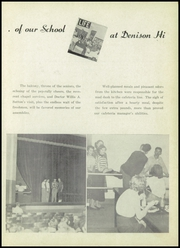 Page 9, 1953 Edition, Denison High School - Yellow Jacket Yearbook (Denison, TX) online yearbook collection