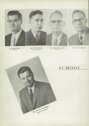 Page 10, 1957 Edition, Denison High School - Yellow Jacket Yearbook (Denison, TX) online yearbook collection