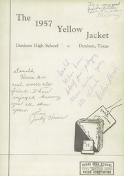 Page 5, 1957 Edition, Denison High School - Yellow Jacket Yearbook (Denison, TX) online yearbook collection