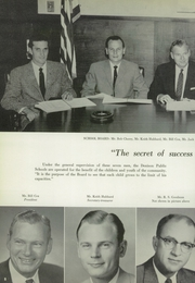 Page 12, 1960 Edition, Denison High School - Yellow Jacket Yearbook (Denison, TX) online yearbook collection
