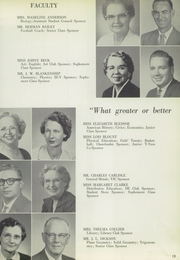 Page 17, 1960 Edition, Denison High School - Yellow Jacket Yearbook (Denison, TX) online yearbook collection
