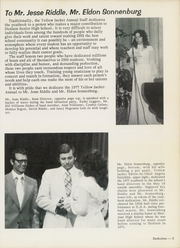 Page 7, 1977 Edition, Denison High School - Yellow Jacket Yearbook (Denison, TX) online yearbook collection
