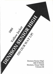 Page 5, 1983 Edition, Denison High School - Yellow Jacket Yearbook (Denison, TX) online yearbook collection