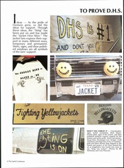 Page 12, 1986 Edition, Denison High School - Yellow Jacket Yearbook (Denison, TX) online yearbook collection