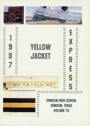 Page 5, 1987 Edition, Denison High School - Yellow Jacket Yearbook (Denison, TX) online yearbook collection
