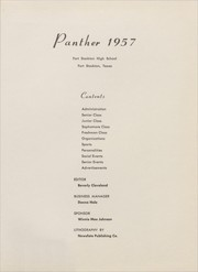 Page 5, 1957 Edition, Fort Stockton High School - Panther Yearbook (Fort Stockton, TX) online yearbook collection