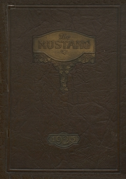 Page 1, 1925 Edition, Grapevine High School - Mustang Yearbook (Grapevine, TX) online yearbook collection