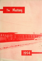 Page 1, 1954 Edition, Grapevine High School - Mustang Yearbook (Grapevine, TX) online yearbook collection