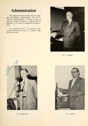Page 11, 1954 Edition, Grapevine High School - Mustang Yearbook (Grapevine, TX) online yearbook collection