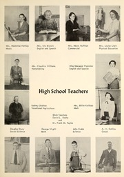 Page 13, 1954 Edition, Grapevine High School - Mustang Yearbook (Grapevine, TX) online yearbook collection