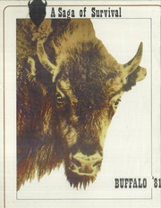 1981 Edition, Haltom High School - Buffalo Yearbook (Haltom City, TX)