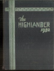 Page 1, 1932 Edition, Highland Park High School - Highlander Yearbook (Dallas, TX) online yearbook collection
