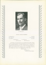 Page 15, 1932 Edition, Highland Park High School - Highlander Yearbook (Dallas, TX) online yearbook collection
