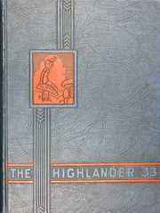 Page 1, 1933 Edition, Highland Park High School - Highlander Yearbook (Dallas, TX) online yearbook collection