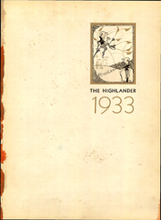 Page 11, 1933 Edition, Highland Park High School - Highlander Yearbook (Dallas, TX) online yearbook collection