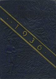 Page 1, 1936 Edition, Highland Park High School - Highlander Yearbook (Dallas, TX) online yearbook collection
