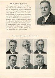 Page 15, 1940 Edition, Highland Park High School - Highlander Yearbook (Dallas, TX) online yearbook collection