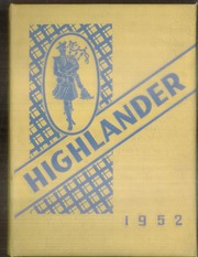 Page 1, 1952 Edition, Highland Park High School - Highlander Yearbook (Dallas, TX) online yearbook collection