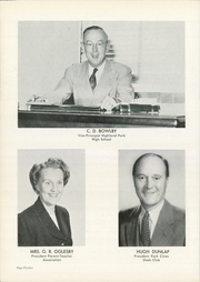 Page 16, 1952 Edition, Highland Park High School - Highlander Yearbook (Dallas, TX) online yearbook collection