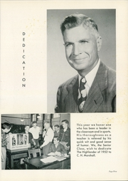 Page 9, 1952 Edition, Highland Park High School - Highlander Yearbook (Dallas, TX) online yearbook collection