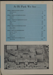 Page 9, 1959 Edition, Highland Park High School - Highlander Yearbook (Dallas, TX) online yearbook collection