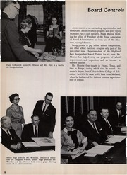 Page 12, 1961 Edition, Highland Park High School - Highlander Yearbook (Dallas, TX) online yearbook collection
