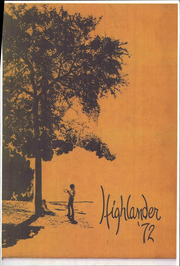 Page 1, 1972 Edition, Highland Park High School - Highlander Yearbook (Dallas, TX) online yearbook collection